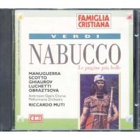 Giuseppe Verdi - Nabucco Dirige Muti Cd