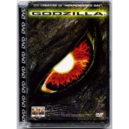 Godzilla - Jean Reno/Matthew Broderick Super Jewel Box Columbia Siae Rosa Dvd