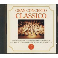 Gran Concerto Classico - Orff/Grieg/Strauss/De Falla/Listz Cd