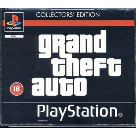 Grand Theft Auto Collector'S Ps1