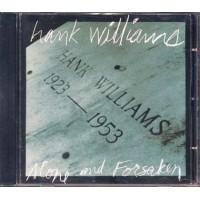 Hank Williams - Alone And Forsaken Cd