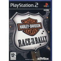 Harley Davidson Motor Cycle Race To Rally Eccellente Ps2
