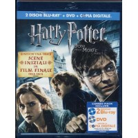 Harry Potter E I Doni Della Morte Parte I Limited Doppio Blu Ray & Dvd