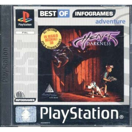 Heart Of Darkness + Occhiali 3D Ps1