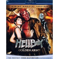 Hellboy The Golden Army - Guillermo Del Toro/Perlman Blu Ray