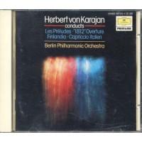 Herbert Von Karajan - Les Preludes 1812 Overture Deutsche Gramm Privilege Cd