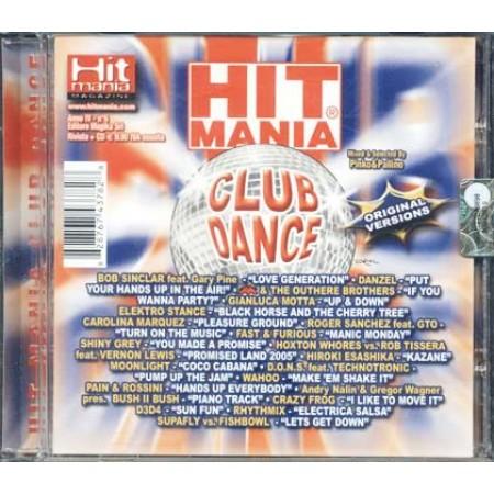 Hit Mania Club Dance - Bob Sinclair/Carolina Marquez/Crazy Frog Cd
