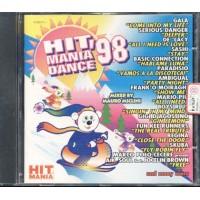 Hit Mania Dance '98 - Gala/De'Lacy/Paradisio/Mario Piu' Cd