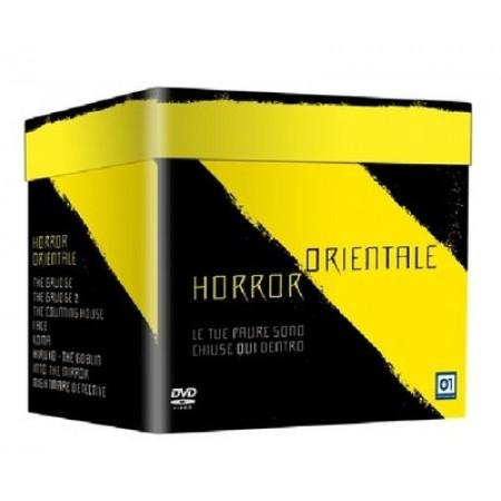 Horror Orientale - Hiruko/Grudge 1 & 2/Face/Koma 8X Dvd