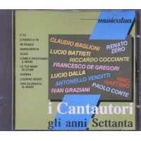 I Cantautori Gli Anni Settanta - Baglioni/Zero/De Gregori/Dalla/Conte Cd