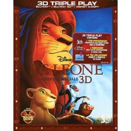 Il Re Leone 3D & 2D & Disney E-Copy Doppio Blu Ray