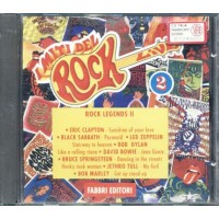 Rock Legends Ii - Clapton/Black Sabbath/Bowie/Springsteen/Jethro Tull Cd