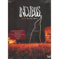 Incubus - Alive At Red Rocks Digipack Cd + Dvd New