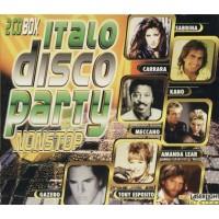 Italo Disco Party Non Stop - Gazebo/Amanda Lear/Meccano/Salerno 2x Cd
