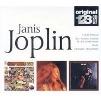 Janis Joplin - Pearl/Cheap Thrills/I Got Dem Ol Kozmic Blues Box 3X Cd