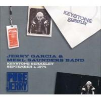 Jerry Garcia/Grateful Dead/Merl Saunders - Keystone Berkeley 1974 Digipack 3X Cd