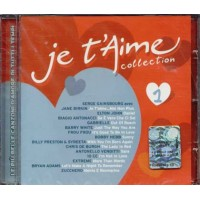 Je T'Aime Vol. 1 - Gainsbourg/Birkin/Antonacci/Extreme/Zucchero Cd