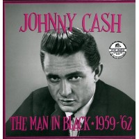 Johnny Cash - The Man In Black 1959 1962 (Bear Family) Lp Size Book 5X Cd