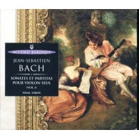 J S Bach - Sonates Et Partitas Pour Violin Seul Vol. 1 Digipack Cd