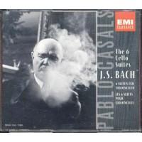 J.S. Bach - The 6 Cello Suites Pablo Casals Box 2x Cd