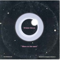 Kristen Grove - Wave On The Sand Promo Card Cd