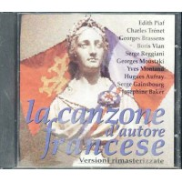 Canzone D' Autore Francese - Piaf/Trenet/Brassens Cd