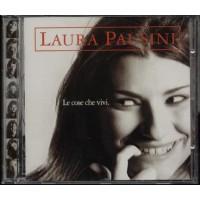 Laura Pausini - Le Cose Che Vivi Cd 1A Stampa Bollo Siae Bianco Rosso