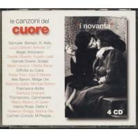 Le Canzoni Del Cuore 90 - Bersani/Consoli/Grignani/Baroni Box 4X Cd