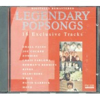 Legendary Popsongs 4 - Zombies/Kinks/T-Rex Cd