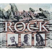 Legends Of Rock - Santana/Hendrix/Troggs/The Animals/Yardbirds 3X Cd