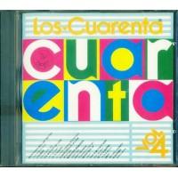 Los Cuarenta Vol 4 Salinas/Jamie Dee/Digital Boy Cd