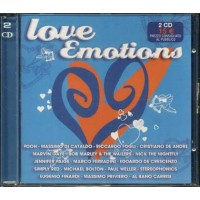 Love Emotions - Pooh/De Andre'/Priviero/Finardi/Malgioglio/Califano 2x Cd