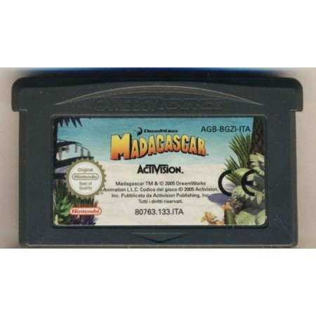 Madagascar In Game Boy Advance