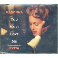 Madonna - You Must Love Me (Evita Score) Cd