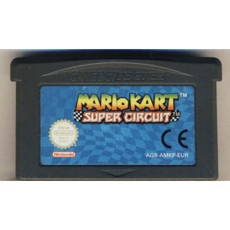 Mario Kart Super Circuit In Game Boy Advance