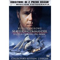 Master And Commander - Russell Crowe/Peter Weir 2x Dvd