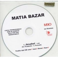 Matia Bazar/Delirium/Fossati - Jesahel 1 Track Promo Cd