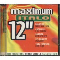 Maximum Italo 12'' - Righeira/Cappella/Sabrina Salerno/Gazebo/Cappella cd
