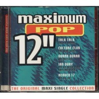 Maximum Pop 12'' - Talk Talk/Duran Duran/Heaven 17 Cd