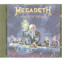 Megadeth - Rust In Peace 1990 Combat Cd