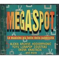 Mega Spot - Alexia/Archive/Hooverphonic/Ekova/Cousteau Cd