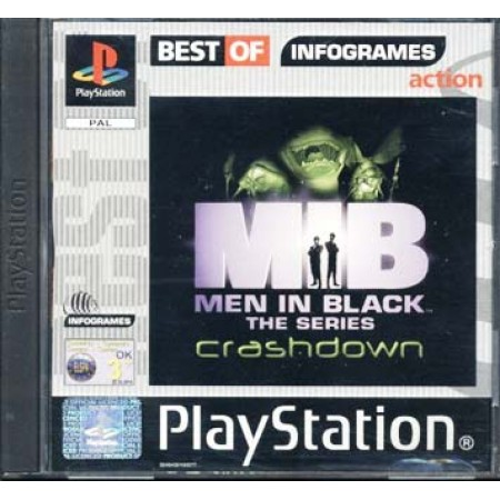 Men In Black - Crashdown Ita Ps1