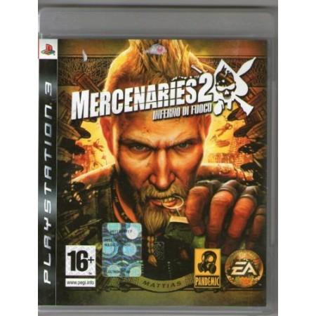 Mercenaries 2 Inferno Di Fuoco 1A Stampa In Stato Ps3