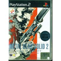 Metal Gear Solid 2 Sons Liberty + Dvd Ps2