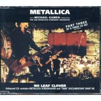Metallica - No Leaf Clover3 Cd