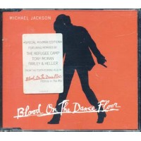 Michael Jackson - Blood On The Dance Floor Special Minimax Red Cd