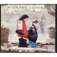 Michael Jackson - Gone Too Soon 4 Tracks Cd