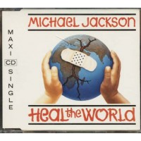 Michael Jackson - Heal The World 4 Tracks Cd