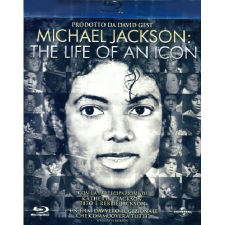 Michael Jackson: The Life Of An Icon Blu Ray