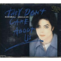 Michael Jackson - They Don'T Care About Us Remixes 4 Tracks Cd